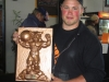Trophy created by Darryl Goudreau for Lift for Life Event