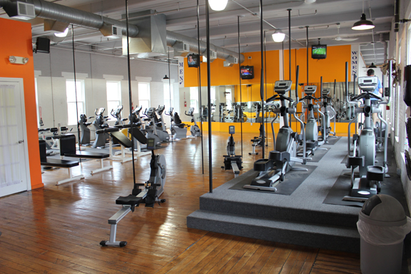 D and D Fitness Factory Upstairs