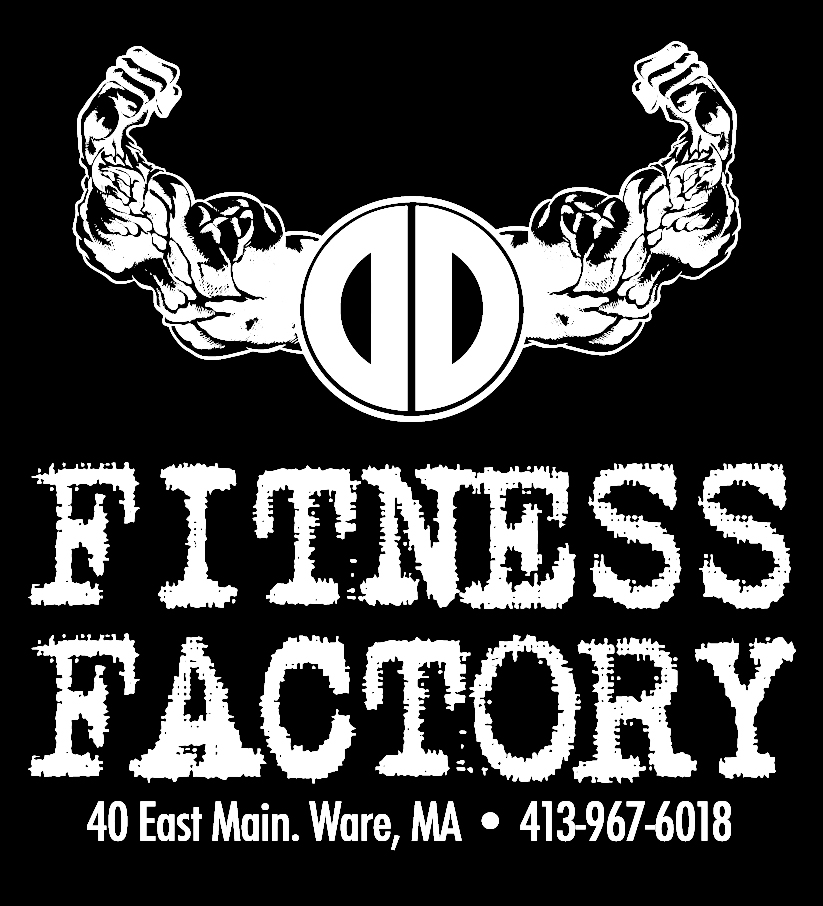 D&D Fitness Factory, Ware, MA, logo